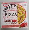 Pizza beetroot base - Produit