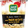 Nouilles en pot saveur poulet curry  Suzi Wan 62 g - Produit