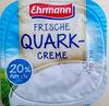 Frische Quark-Creme 20% Fett i. Tr. - Produkt