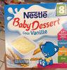 Baby Dessert goût vanille - Prodotto