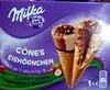 Cônes chocolat & noisette - Produit