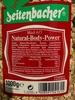 Müsli 615 Natural-Body-Power - Produkt