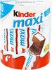 Kinder maxi barre chocolat au lait avec fourrage au lait 10 barres - Produkt