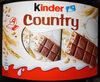 Kinder Country - Produkt