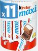 Kinder maxi barre chocolat au lait avec fourrage au lait 11 barres - Produktua
