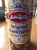 Original Frankfurter - Produit