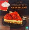 Tarta de queso con fresas - Produit
