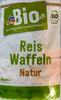 Reis Waffeln Natur - Product