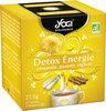 Infusion Detox Energie citronnelle, pissenlit, réglisse - Product