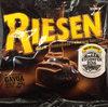 Riesen dark chocolate-chewy toffee - Produit