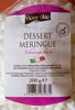 Dessert meringue Schaumgebäck - Produkt