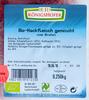 Bio-Hackfleisch gemischt - Produkt
