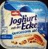 Joghurt mit der Ecke Griechischer Art Mandel Crunch - Product