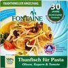 Thunfisch für Pasta Olive, Kapern & Tomate - Produkt