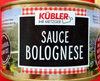 Sauce Bolognese - Produit