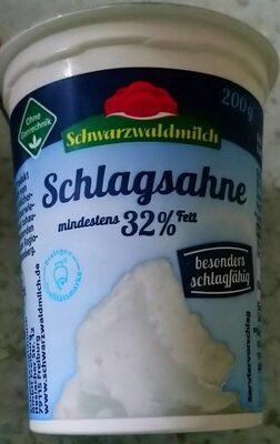 Schwarzwaldmilch Schlagsahne