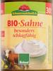 BIO Sahne - Produkt