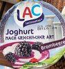 Joghurt nach griechischer Art Blaubeere - Produkt