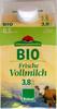 BIO Frische Vollmilch - Produkt
