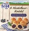 6 Heidelbeer-Knödel - Product