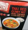 Thai red curry mit Huhn und Reis - Product