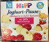 Joghurt-Pause Himbeere in Apfel-Banane - Produit