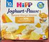 Joghurt-Pause Banane-Mango-Ananas - Produit