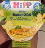 Wilder Nudel-Zoo in Rahmsauce mit buntem Gemüse - Product
