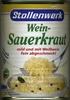 Wein-Sauerkraut - Producte