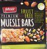 Prenium Muesli Bars Fruit Free - Product