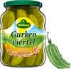 Gurken viertel würzig-süß mit feiner Kurkumanote - Produkt