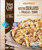 Escalopes de volaille,penne,champignons et crème - Product