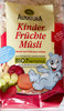 Kinder Früchte Müsli - Produkt