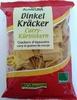 Dinkel Kräcker Curry-Kürbiskern - Produit