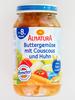 Buttergemüse mit Couscous und Huhn - Product