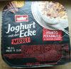 Joghurt mit der Ecke Müsli Honig Pekannuss - Product