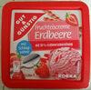 Fruchteiscreme Erdbeere - Produkt
