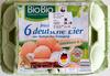 6 frische deutsche Eier - Produkt