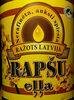 Rapšu eļļa, nerafinēta, auksti spiesta - Product