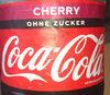 Coca-Cola Cherry ohne Zucker - Produkt