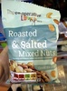 Roasted and salted mixed nuts - Produit