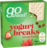Go Ahead! Strawberry Yogurt Breaks 5 Packs of 2 Slices (178g) - Product