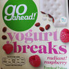 Yogurt Breaks Raspberry - Produit