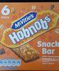 Mcvitie's Hobnobs Milk Chocolate & Golden Syrup Oaty Snack - Product