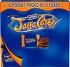 Jaffa Cakes 6×snack pack - Produit