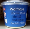 Extra thick double cream - Produit