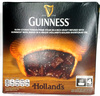 Slow cooked tender prime steak in a rich gravy infused with Guinness beer, baked in a unique Holland's golden shortcrust pie - Product