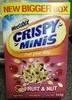 Crispy Minis Fruit & Nut - Product