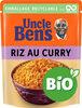 Riz Curry BIO Uncle Ben's 240 g - Produit