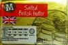 Salted British Butter - Prodotto